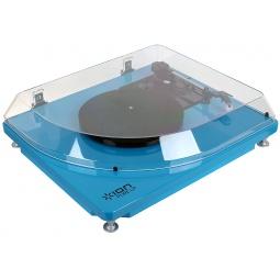 фото Проигрыватель USB виниловый и MP3-конвертер ION Pure LP. Цвет: голубой