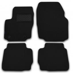 Комплект ковриков в салон автомобиля Novline-Autofamily Audi A5 2007. Цвет: бежевый - фото 5