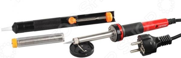 Набор для паяльных работ Светозар SV-55316-40-H4  электрический паяльник светозар sv 55310 100