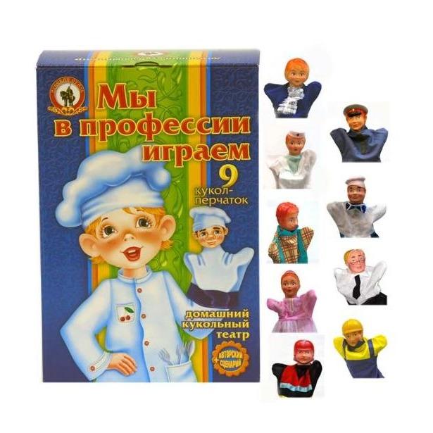 фото Набор для кукольного театра Русский стиль «Мы в профессии играем»