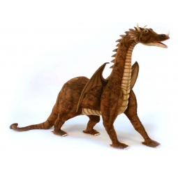 фото Мягкая игрушка для ребенка Hansa «Дракон» 4967