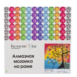 фото Набор для создания мозаичной картины Белоснежка 106-RS-R «Древо счастья»