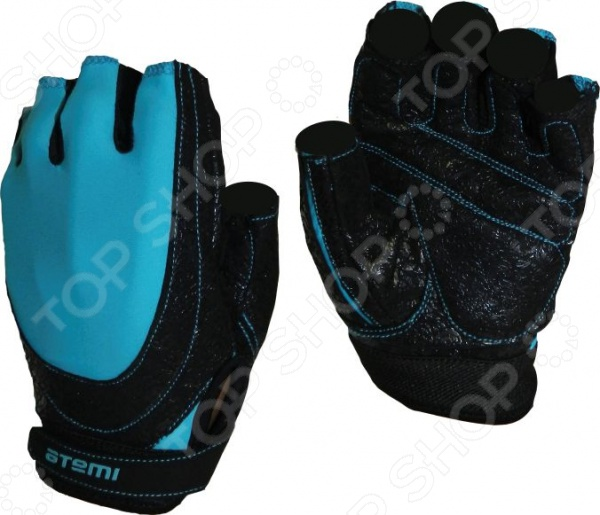 Перчатки для фитнеса Atemi AFG-06 Перчатки для фитнеса Atemi AFG-06b /Синий/Черный