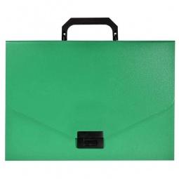 фото Папка-портфель Silwerhof Basic 255077. Цвет: зеленый