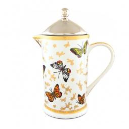 Купить Френч-пресс Elan Gallery «Бабочки»