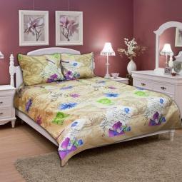 фото Комплект постельного белья Amore Mio Flower. Naturel. 2-спальный