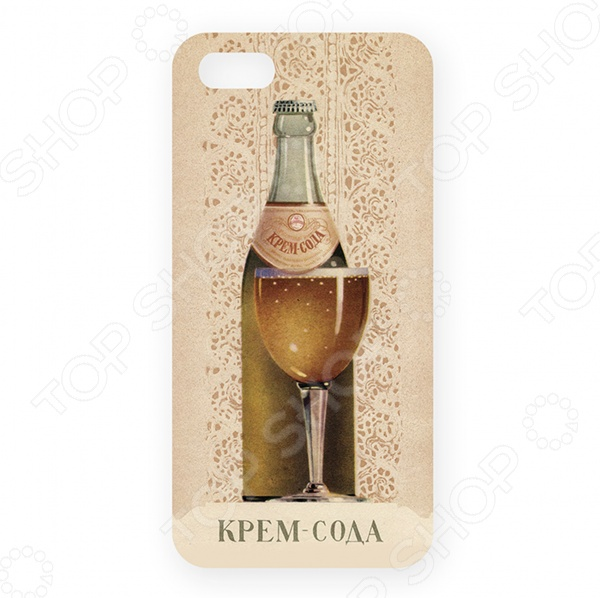 Чехол для iPhone 5 Mitya Veselkov «Крем-сода» цена