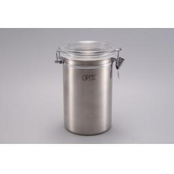 фото Банка Gipfel для герметичного хранения сыпучих продуктов. Объем: 1,1 л