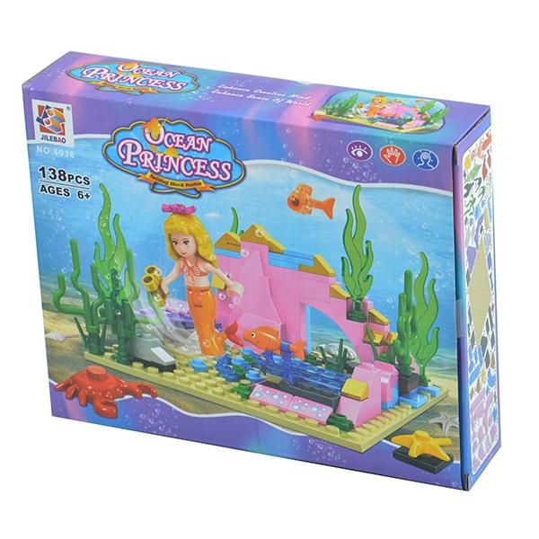 Конструктор игровой Jilebao 6038Игровые конструкторы<br>Конструктор игровой Jilebao 6038 классический конструктор, состоящий из деталей, с помощью которых можно собрать полноценную игрушку. Отлично подойдет для веселой игры в компании друзей, в детском саду или дома. Этот конструктор является достаточно практичным учебным пособием, так как он развивает память, мышление, логику, фантазию, а также моторику рук.<br>