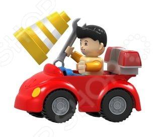 Конструктор игровой Dr.Luck «Машинка дорожного рабочего»