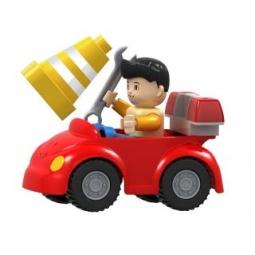 Купить Конструктор игровой Dr.Luck «Машинка дорожного рабочего»