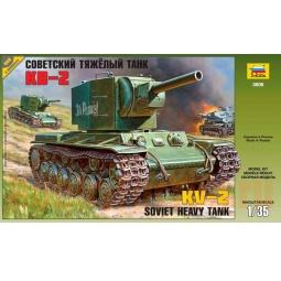 фото Сборная модель танка Звезда «КВ-2»