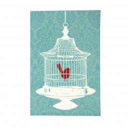фото Обложка для паспорта Mitya Veselkov «Птичка в клетке»