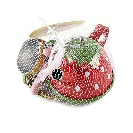 Купить Игровой набор для девочки Shantou Gepai «Чайный сервиз. Клубничка»