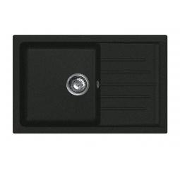 Купить Мойка кухонная GranFest Practic GF-P760L. Цвет: черный