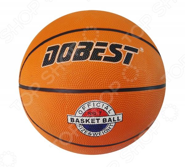 Мяч баскетбольный DoBest RB7-0886