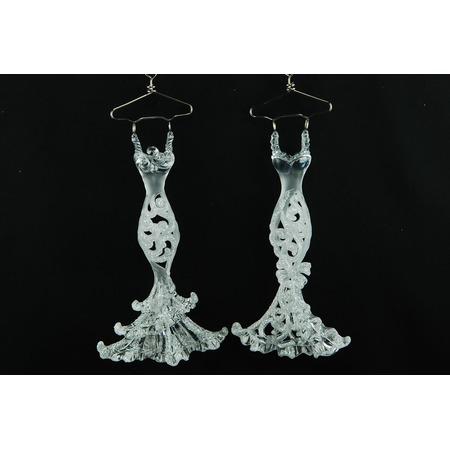 Купить Елочное украшение Crystal Deco «Платье» 1707668. В ассортименте