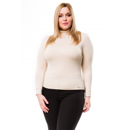 фото Водолазка Mondigo XL 146. Цвет: бежевый. Размер одежды: 50