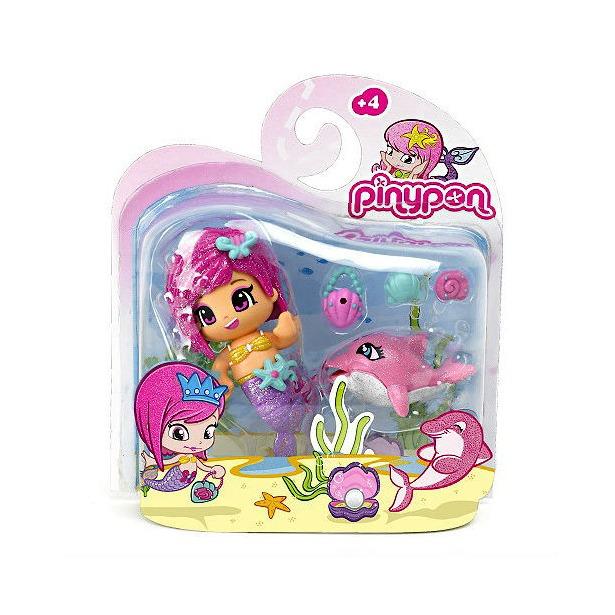 фото Набор игровой с куклой Famosa «Пинипон - волшебница русалочка и дельфин»