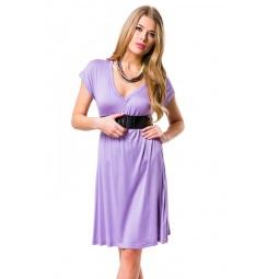 фото Платье Mondigo 8597. Цвет: сиреневый. Размер одежды: 46