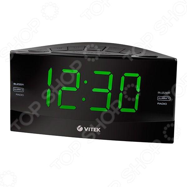 Радиочасы Vitek VT-6603(BK)