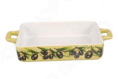 Форма для выпечки керамическая Едим Дома TV293Керамические формы для выпечки и запекания<br>Форма для выпечки керамическая Едим Дома TV293 атрибут для приготовления всевозможной выпечки для праздников. Это объемная форма из высококачественного материала, не вступает в реакцию с продуктами, а так же не влияет на запах и вкус готового изделия. Прослужит вам долго и качественно, сохраняя свой прекрасный внешний вид.<br>
