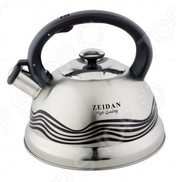 купить Чайник со свистком Zeidan Z 4109 по цене 1039 рублей