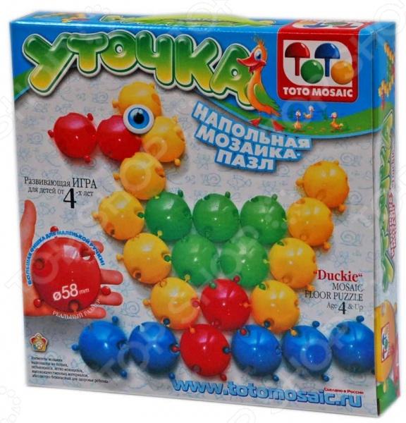 Мозаика напольная Toys Union «Уточка»Мозаика<br>Мозаика напольная Toys Union Уточка это интересная игра-головоломка для детей. Мозаика предоставляет уникальную возможность развить у ребенка мелкую моторику рук и координацию движений, а также наглядно-образное мышление, зрительную и тактильную память, умение ориентироваться на плоскости, творческие способности, фантазию и воображение. Мозаика Toys Union это отличный подарок для любознательного ребенка.<br>