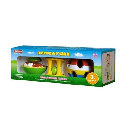 Купить Набор игрушек-погремушек Стеллар 10455