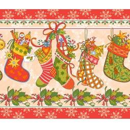 Купить Полотенце вафельное ТексДизайн «Новогодние подарки»