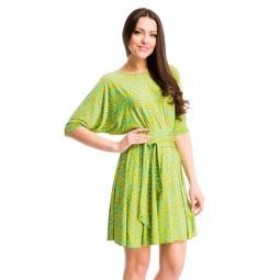 фото Платье Mondigo 7060-1. Цвет: желтый. Размер одежды: 44