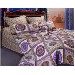 фото Комплект постельного белья Сова и Жаворонок «Бухара» 19056/1. Семейный