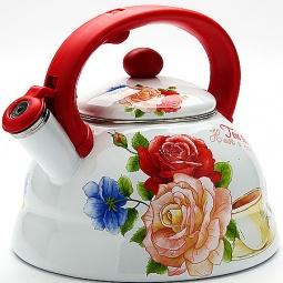 Купить Чайник со свистком Mayer&Boch «Розы» MB-23083