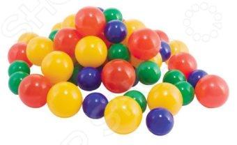 Шарики для сухого бассейна Нордпласт 06500Спортивные игры<br>Шарики для сухого бассейна Нордпласт 06500 станут идеальным решением для активных и непоседливых детей. Кроме того, что шарики могут послужить прекрасным оформлением детской игровой площадки, они могут выполнять и другие функции. С ними можно придумать самые разнообразные игры, например, прятки или вышибала. Мячики выполнены из высококачественного пластика, который совершенно безопасен для детского здоровья. Шарики могут использоваться как внутри помещения, так и на открытом воздухе.<br>