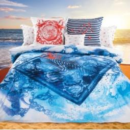 фото Комплект постельного белья Унисон «Адмирал». Семейный