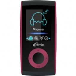 фото MP3-плеер Ritmix RF-4400. Цвет: бордовый. Встроенная память: 4 Гб