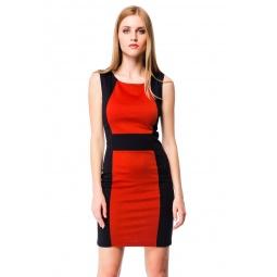 фото Платье Mondigo 5058. Цвет: терракотовый. Размер одежды: 46