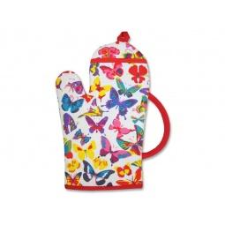 фото Набор: прихватка и рукавица BONITA «Чаепитие. Бабочки»