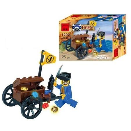 Купить Конструктор игровой Brick «Пиратский сундук сокровищ»