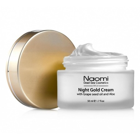 Купить Крем для лица ночной Naomi Night gold cream with Grape seed oil and Aloe