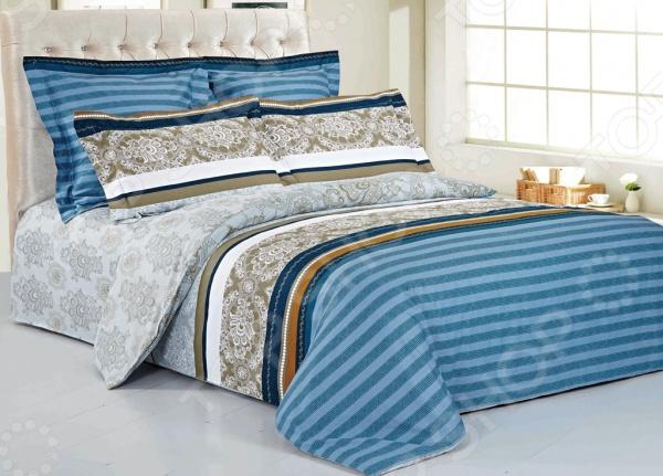 Комплект постельного белья Softline 09815. 2-спальный2-спальные<br>Комплект постельного белья Softline 09815. 2-спальный необычайно стильный и красивый - станет украшением любой спальни и подарит крепкий и здоровый сон. Ваша постель будет выглядеть безупречно. Комплект выполнен из сатина - 100 хлопка, практичного и качественного материала, приятного на ощупь, кроме того, сатин отлично держит тепло. Важным преимуществом сатина перед другими тканями является то, что он практически не мнется, не боится большого количества стирок, при этом сохраняя первоначальные потребительские качества. При изготовлении данной серии постельного белья, были использованы красители высшего качества, безопасные для здоровья и долговечные. Роскошное постельное белье очарует вас и великолепным образом преобразит вашу спальню.<br>