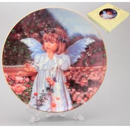 Купить Тарелка декоративная Elan Gallery «Ангелочек»