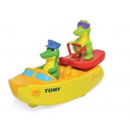 фото Игрушка для ванны Tomy «Крокодил на водных лыжах»