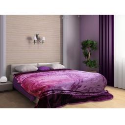 фото Плед Tomilon Kaleidoscope lilac-violet. Размер: 220х240 см