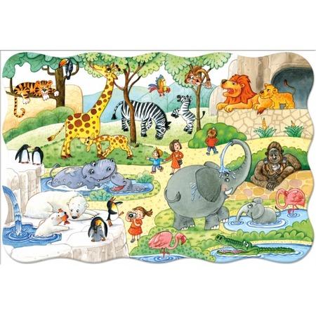 Купить Пазл 20 элементов Castorland «В зоопарке»