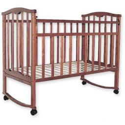 фото Кроватка детская Агат Золушка-1. Цвет: светло-коричневый