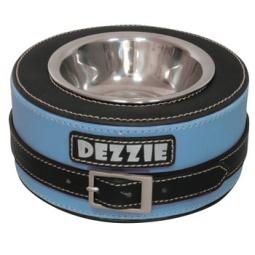 фото Миска для собак DEZZIE «Круг». Цвет: синий. Размер: 16х7,5 см. Объем: 500 мл