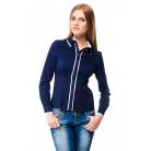 Фото Блузка Mondigo 6000. Цвет: темно-синий. Размер одежды: 42