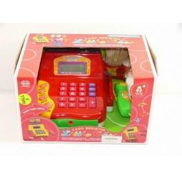 фото Игровой набор для девочки Shantou Gepai «Касса электронная с набором продуктов и сканером» 622335