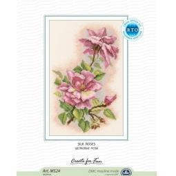 фото Набор для вышивания RTO «Шелковые розы»